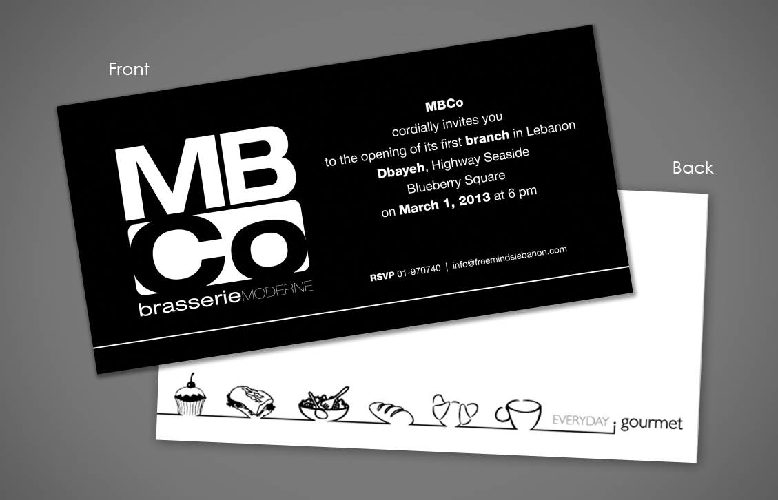 Mbco Invitation Card & Folder